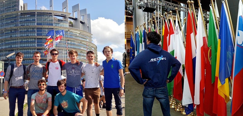 L'ANESTAPS à l'EYE : Un regard d'une jeunesse sportive engagée sur l'Europe !