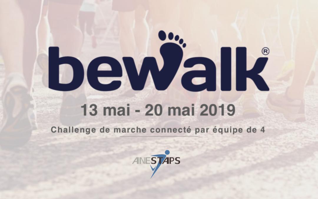 Be Walk : A vos marques, connectés, marchez !