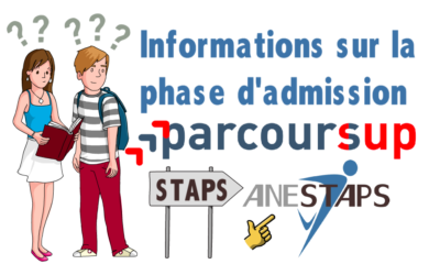 Phase d'admission Parcoursup !