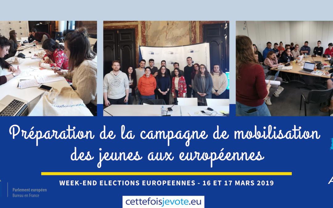 Préparation de la campagne de mobilisation des jeunes aux européennes