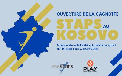 STAPS au Kosovo : Ouverture de la cagnotte !