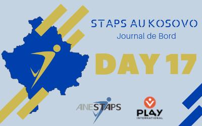 STAPS au Kosovo : Day 17 !