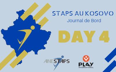 STAPS au Kosovo : Day 4 !