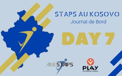 STAPS au Kosovo : Day 7 !