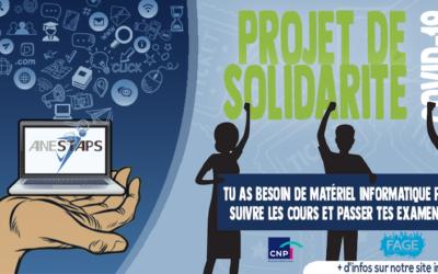 Projet de Solidarité Covid-19, le bilan