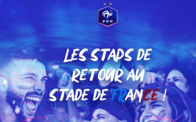 France – Bulgarie, les STAPS de retour au Stade de France